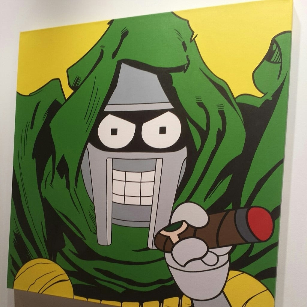 Bender Doom Painting