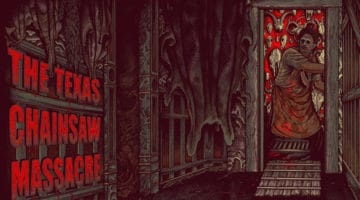 Texas Chainsaw Massacre Movie Poster Series