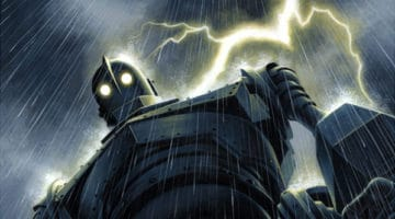 Iron Giant Prints and Toy From Mondo
