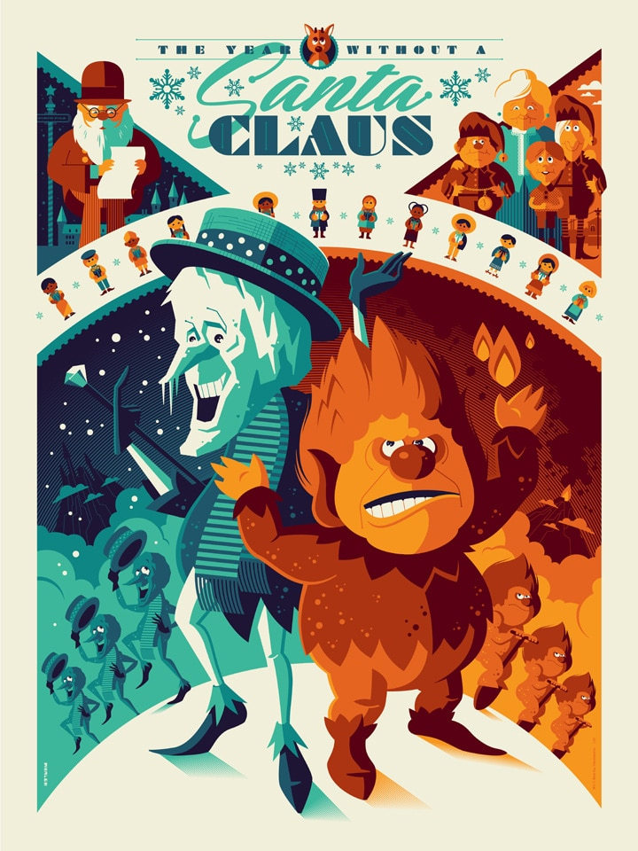 The Year Without a Santa Claus Poster by Tom Whalen