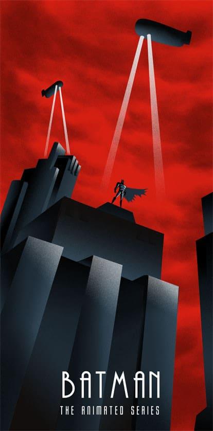 Batman TAS Print