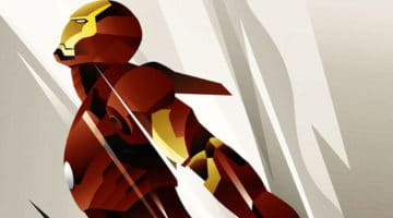 Iron Man, Spiderman and Batman NYE Prints