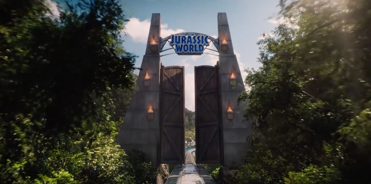 Jurassic World Gate Opening
