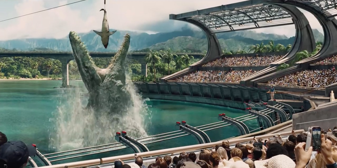 Jurassic World Water Dino Show