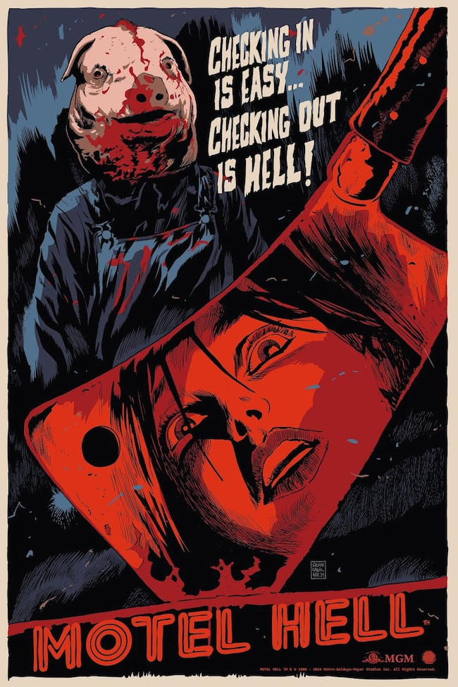 Motel Hell Movie Poster from Skuzzles