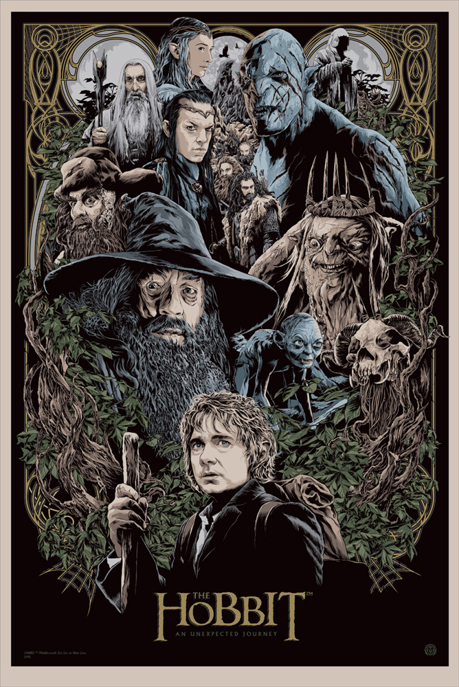 The Hobbit: An Unexpected Journey Print
