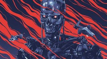 The Terminator Movie Poster by Gabz