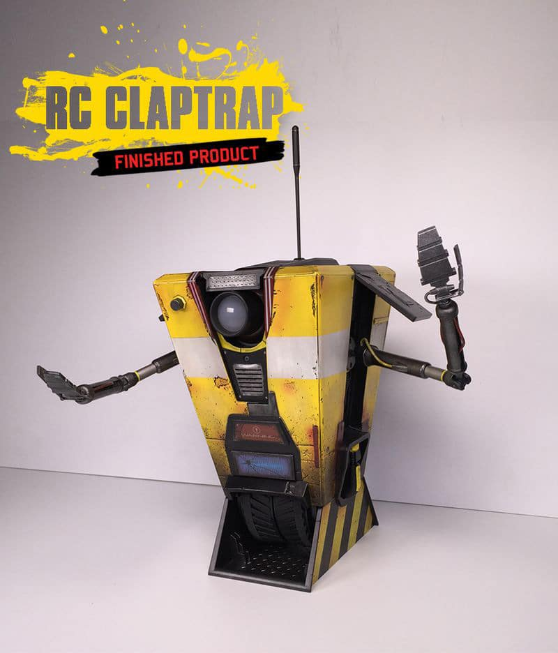 Claptrap Collectible Robot
