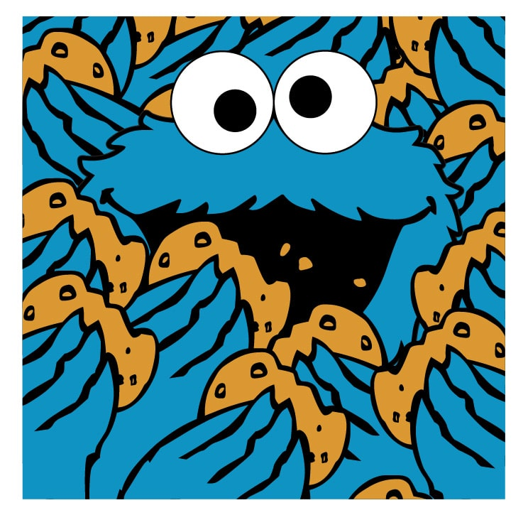 Cookie Monster Prints