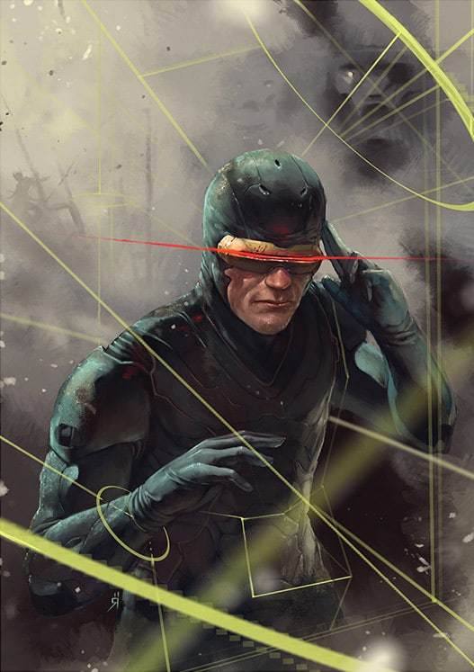 Cyclops X-Men Print