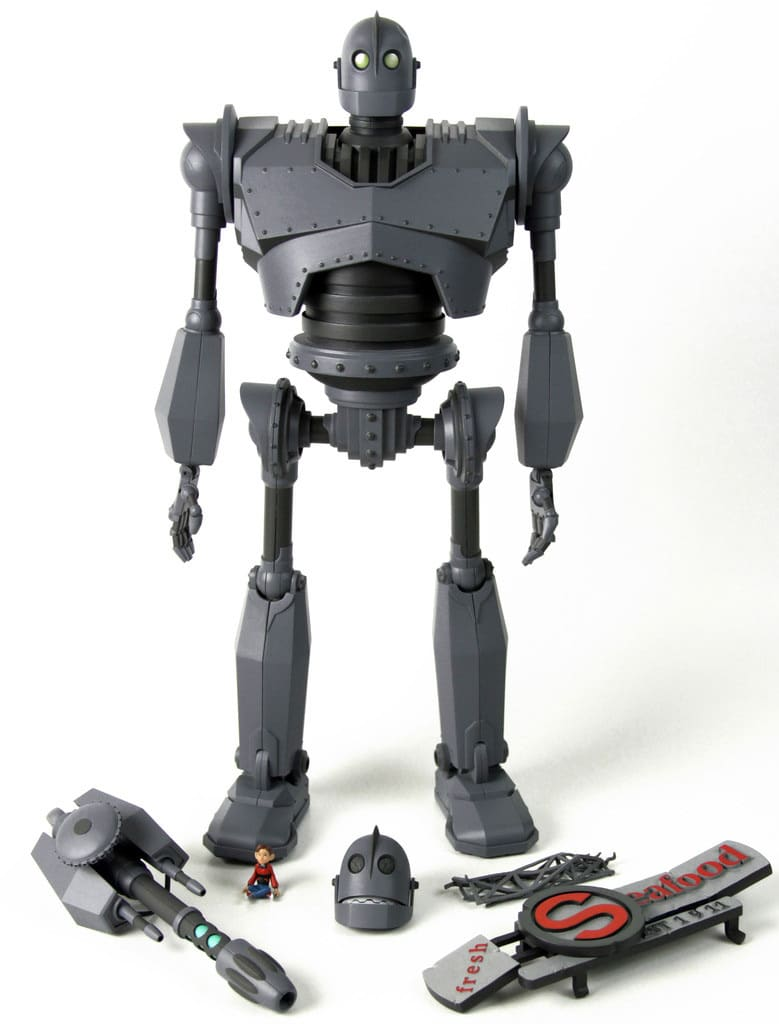 The Iron Giant Action Figure Set