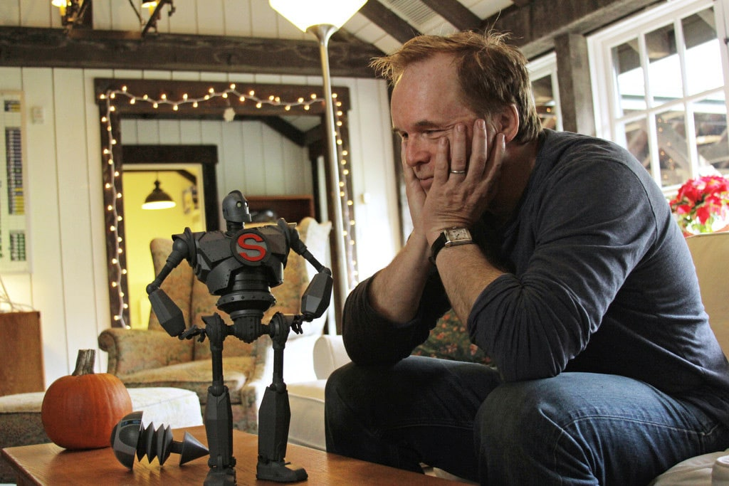Brad Bird with Toy