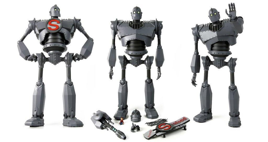 The Iron Giant Action Figure Complete Accessories