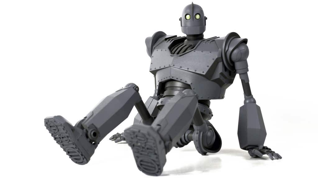 The Iron Giant Sitting Down