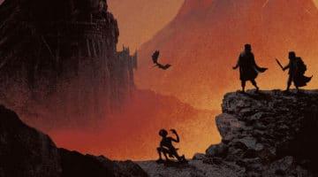Lord of the Rings Print Set from Matt Ferguson