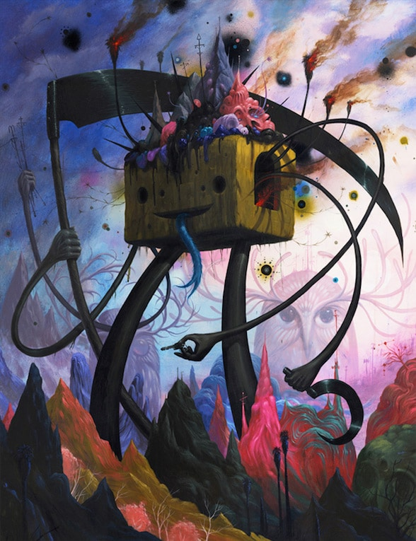 Mountain Giants by Jeff Soto