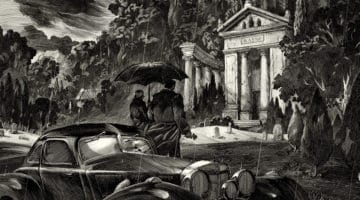 Thomas and Martha Wayne Batman Print from Nicolas Delort and FPAC