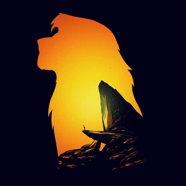 Simba Lion King Print