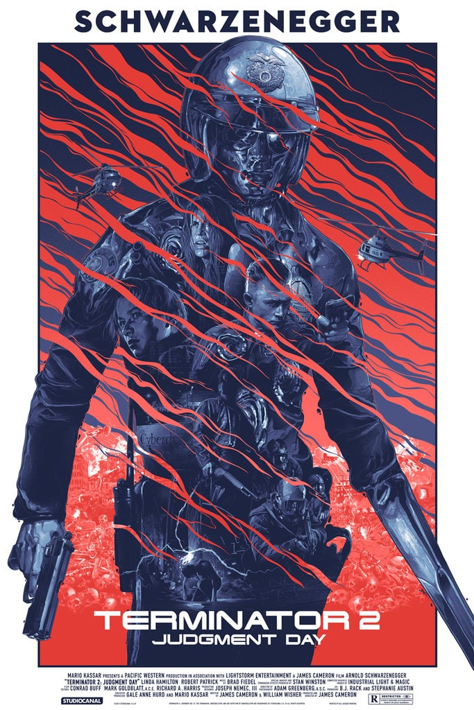 Terminator 2: Judgment Day Movie Poster Print by Gabz