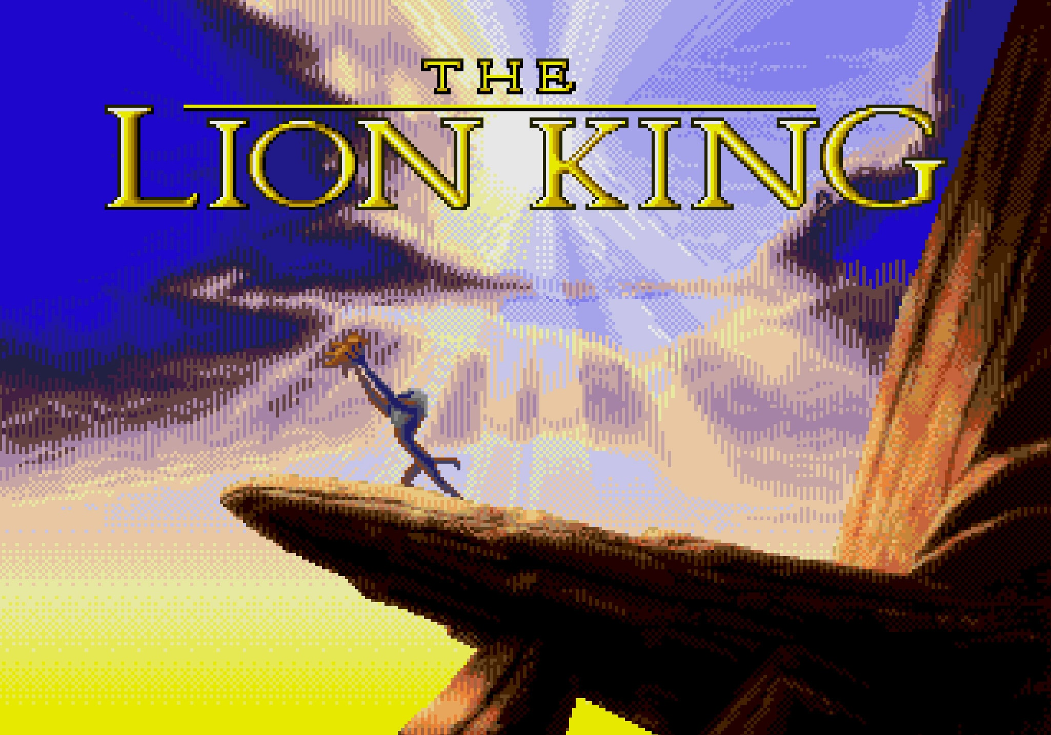 The Lion King Video Game Opening