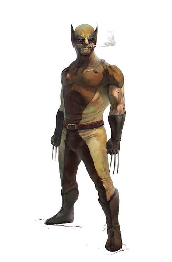 Wolverine X-Men Print