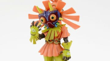 Majora's Mask 3D Collector's Edition With Skull Kid Figure