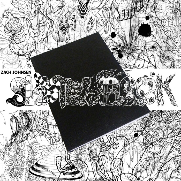 Zach Johnsen Sketchbook Inside