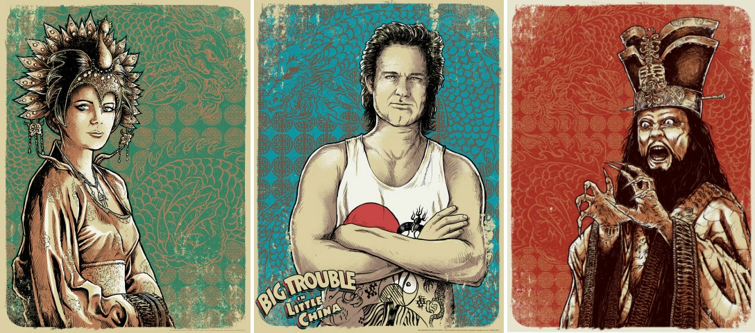 Big Trouble in Little China Print Set