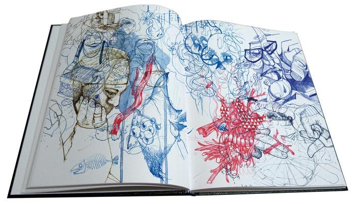 Zach Johnsen Sketchbook Page 1