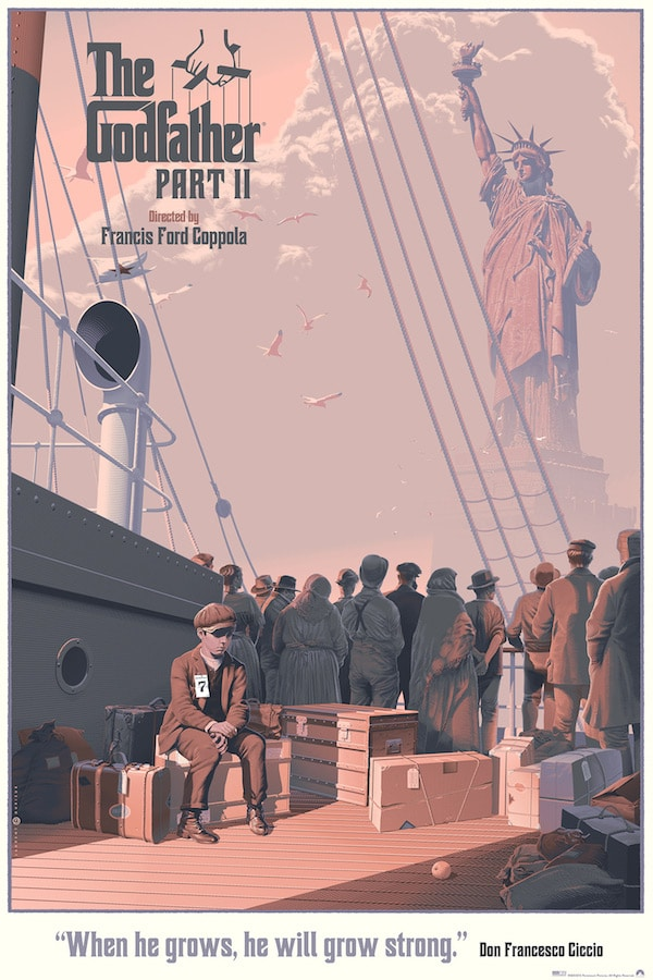 Godfather Part II Print by Laurent Durieux