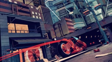 Highway 26 Akira Print by Chris Skinner