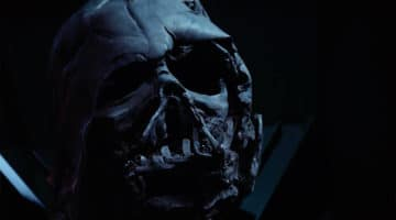 Darth Vaders Helmet Melted