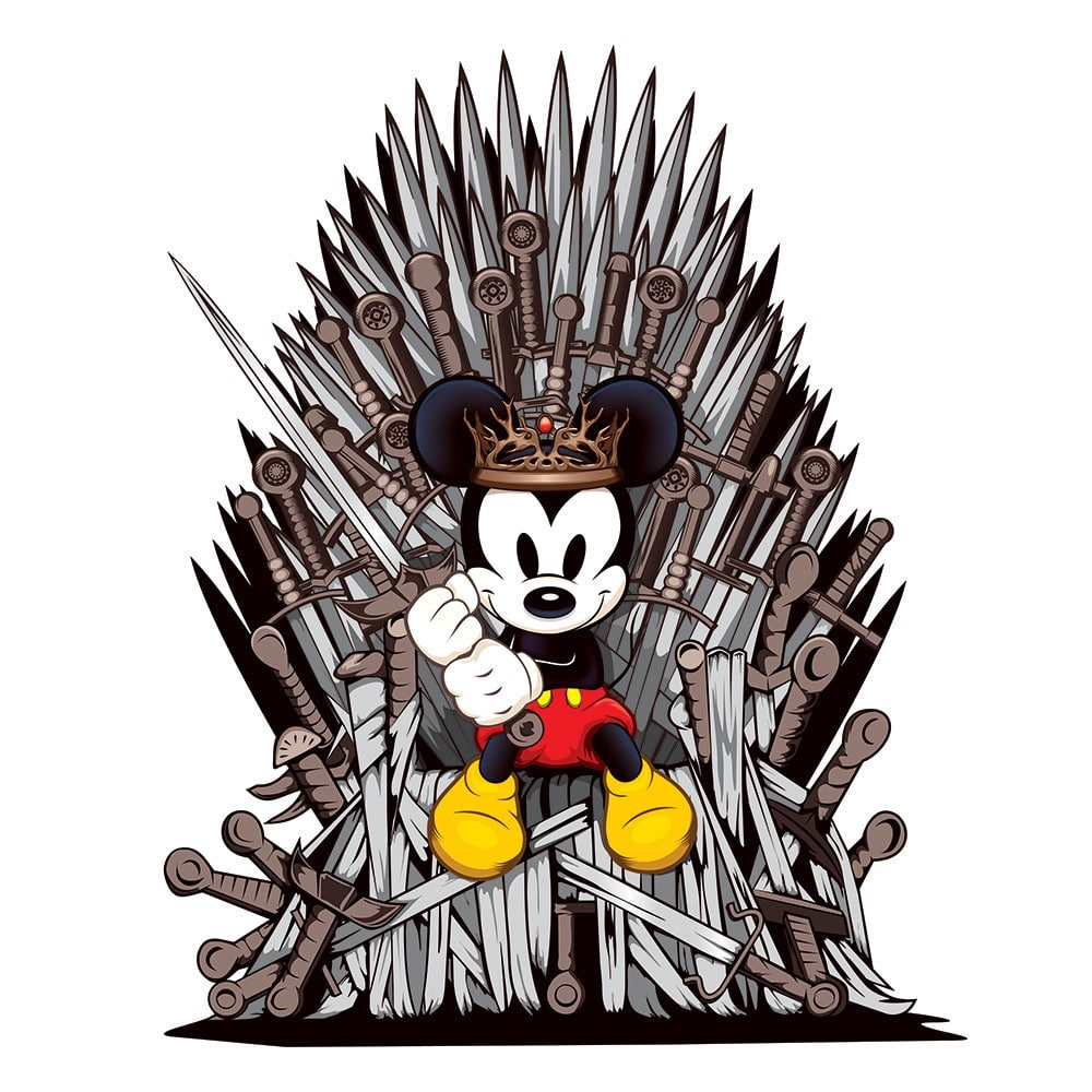Mouse of Thrones Print