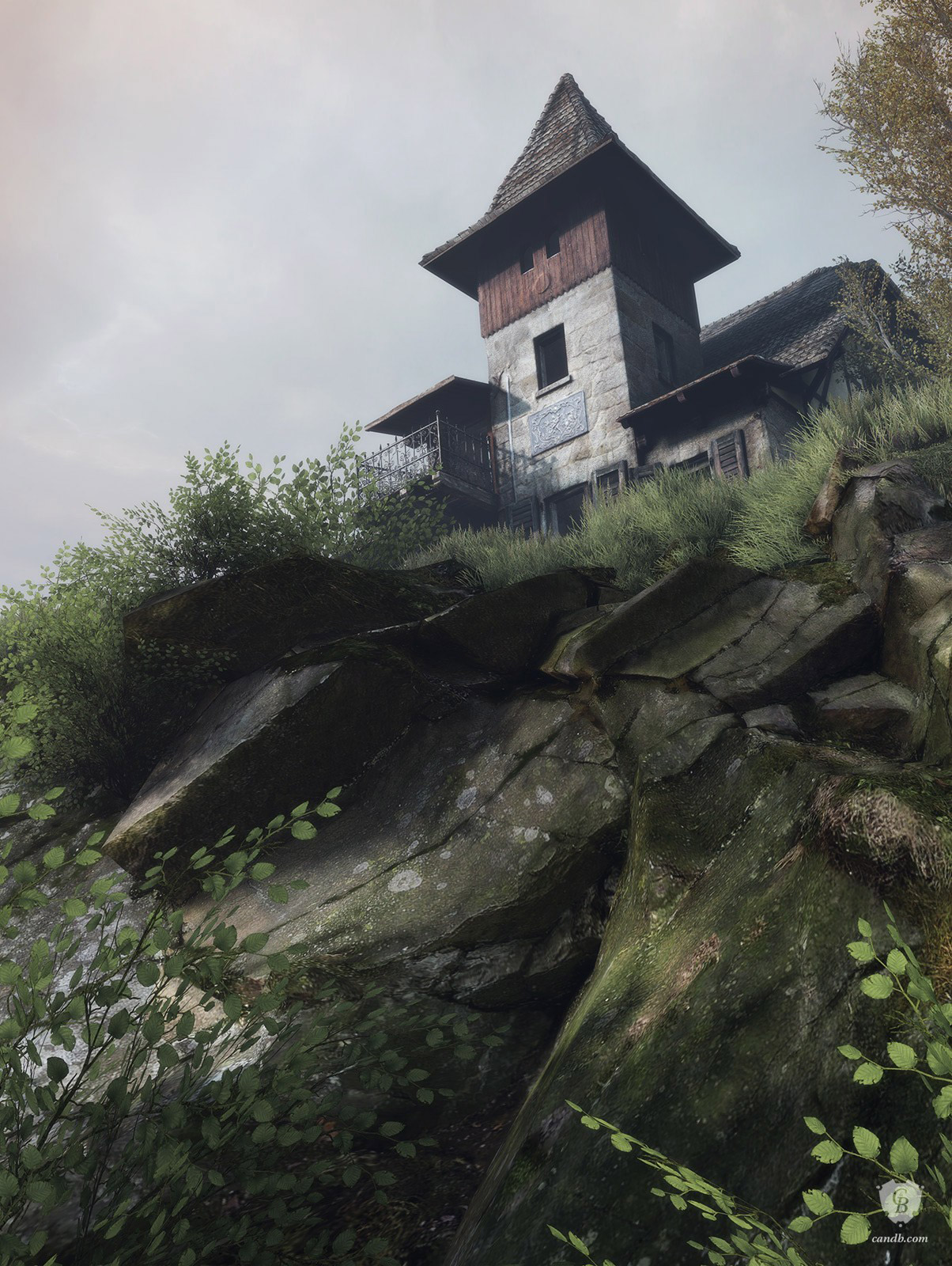 Abandoned Vanishing of Ethan Carter Print