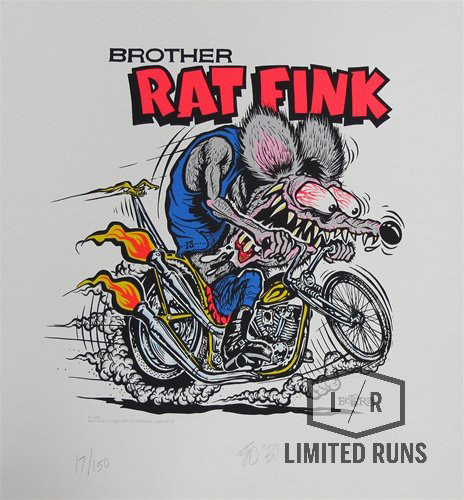 Brother Rat Fink Art Print