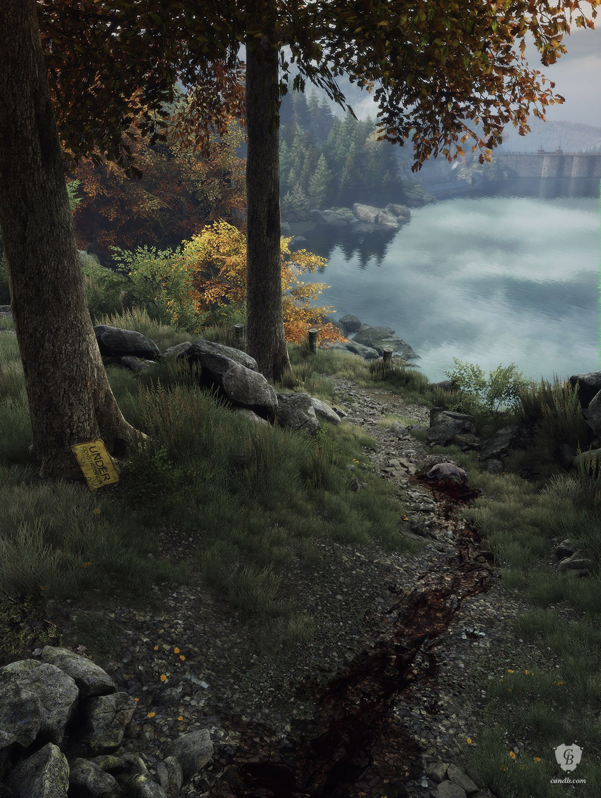 Crime Scene Vanishing of Ethan Carter Print