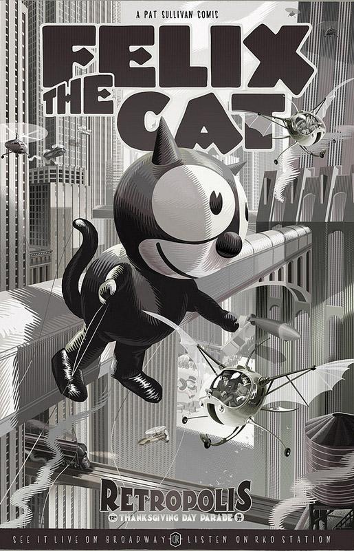 Felix the Cat Print