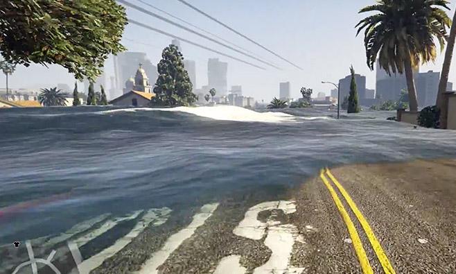 Resultado de imagem para gta v tsunami