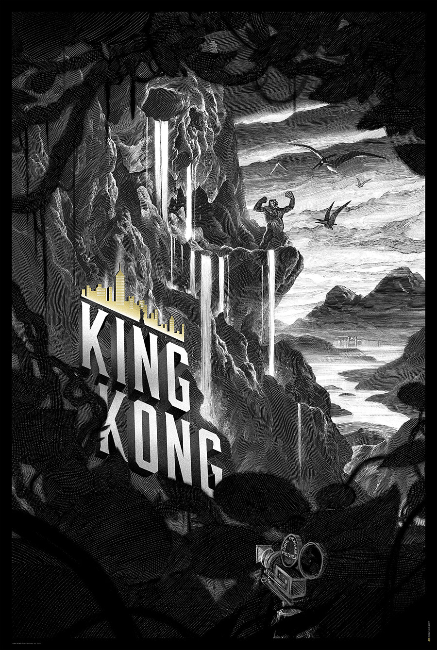King Kong Posters from Nicolas Delort