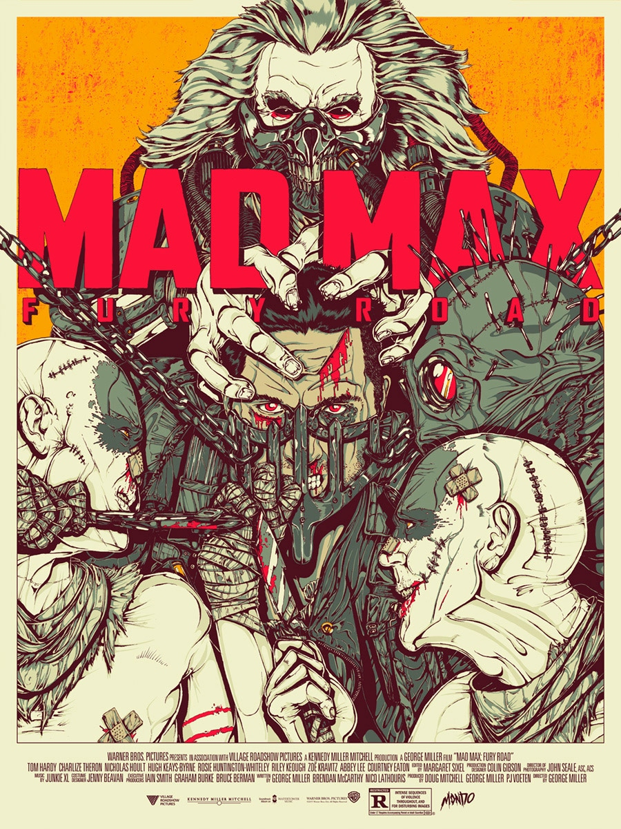 Mad Max Fury Road Movie Print