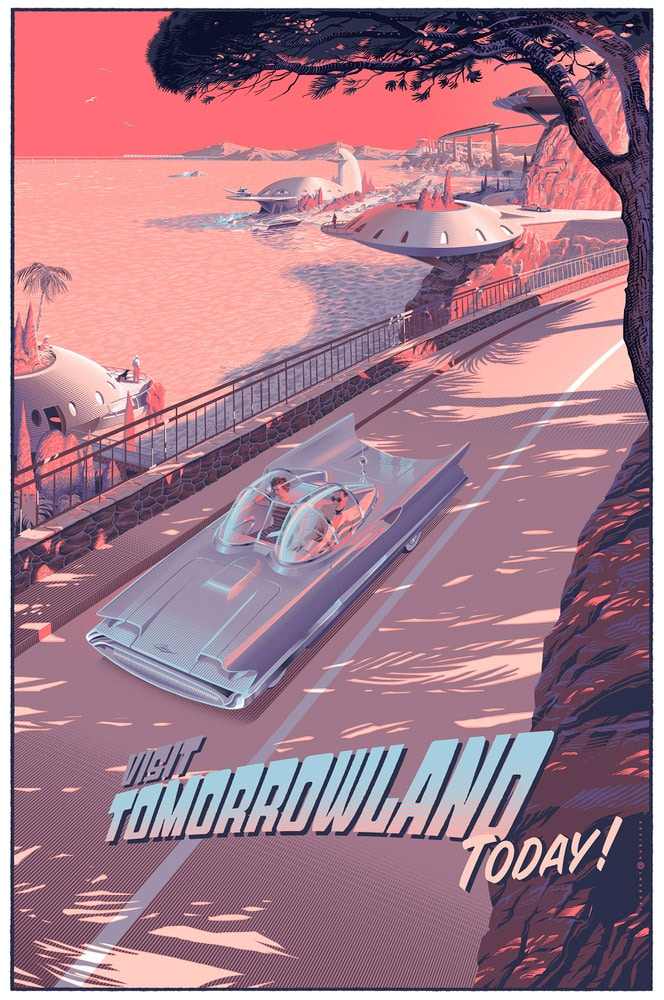Visit Tomorrowland Posters from Retropolis