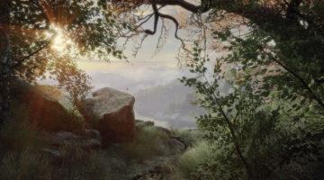 Vista Vanishing of Ethan Carter Print