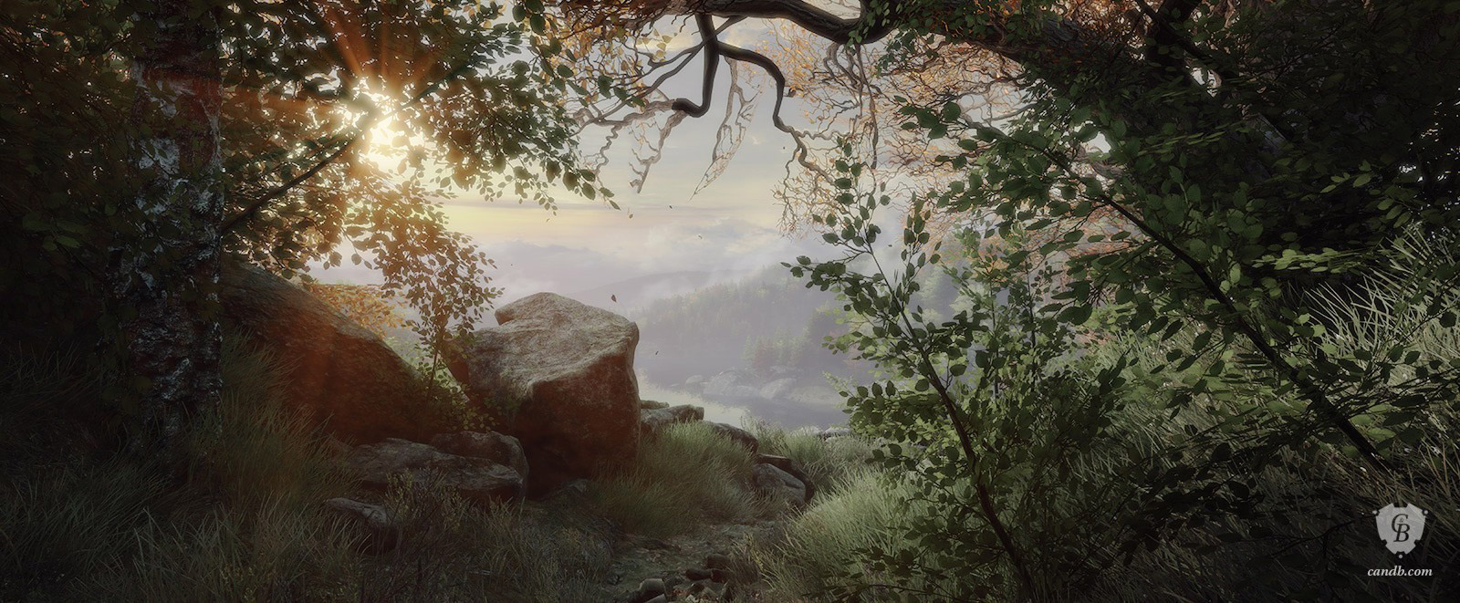 Vista Vanishing of Ethan Carter Print
