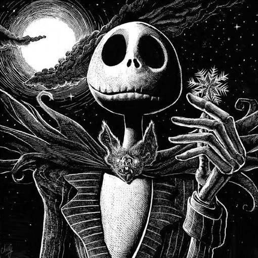 What's This Nightmare Before Christmas Print