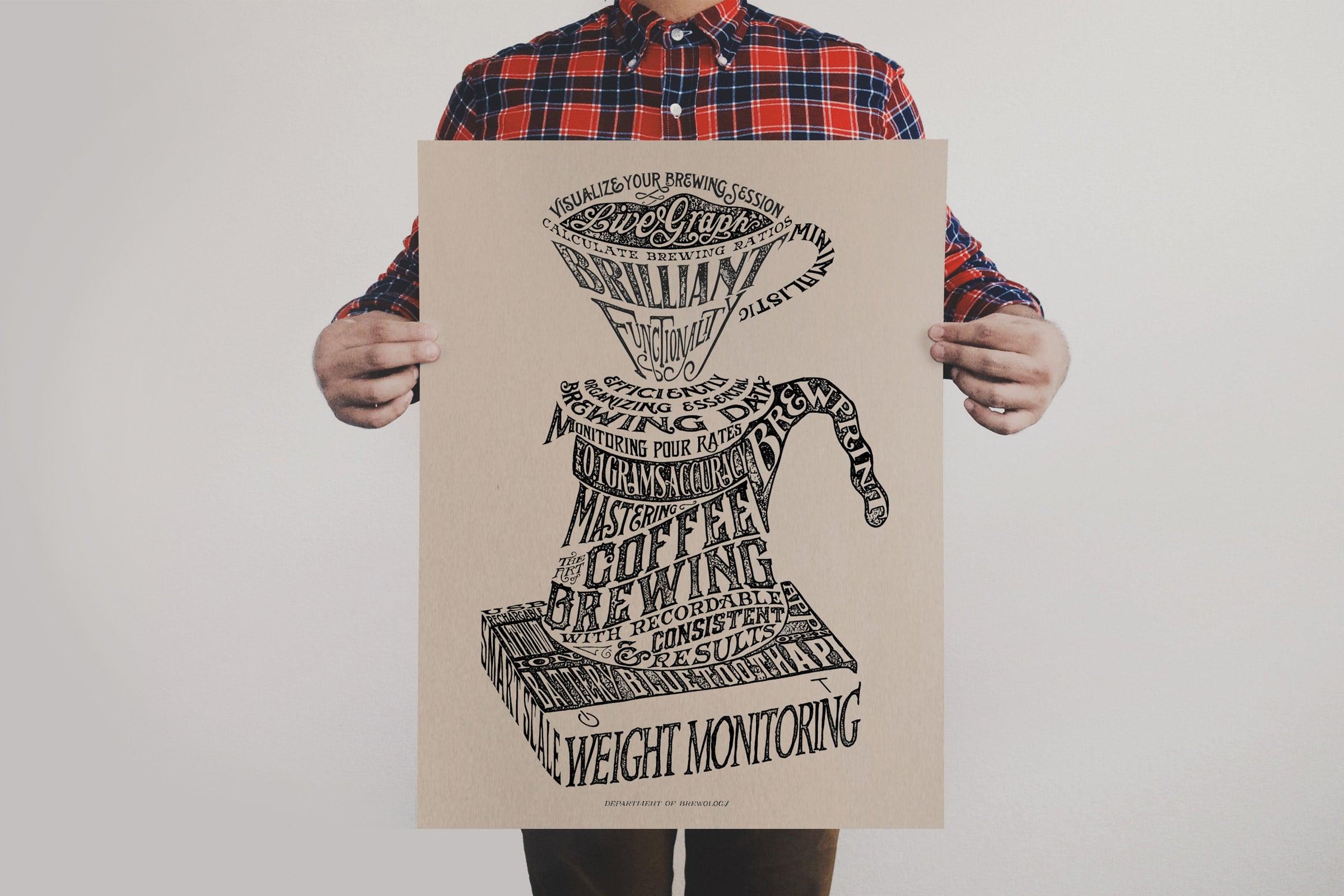 Acaia Scale Print