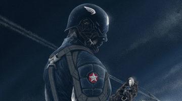 Captain America Prints From Marko Manev