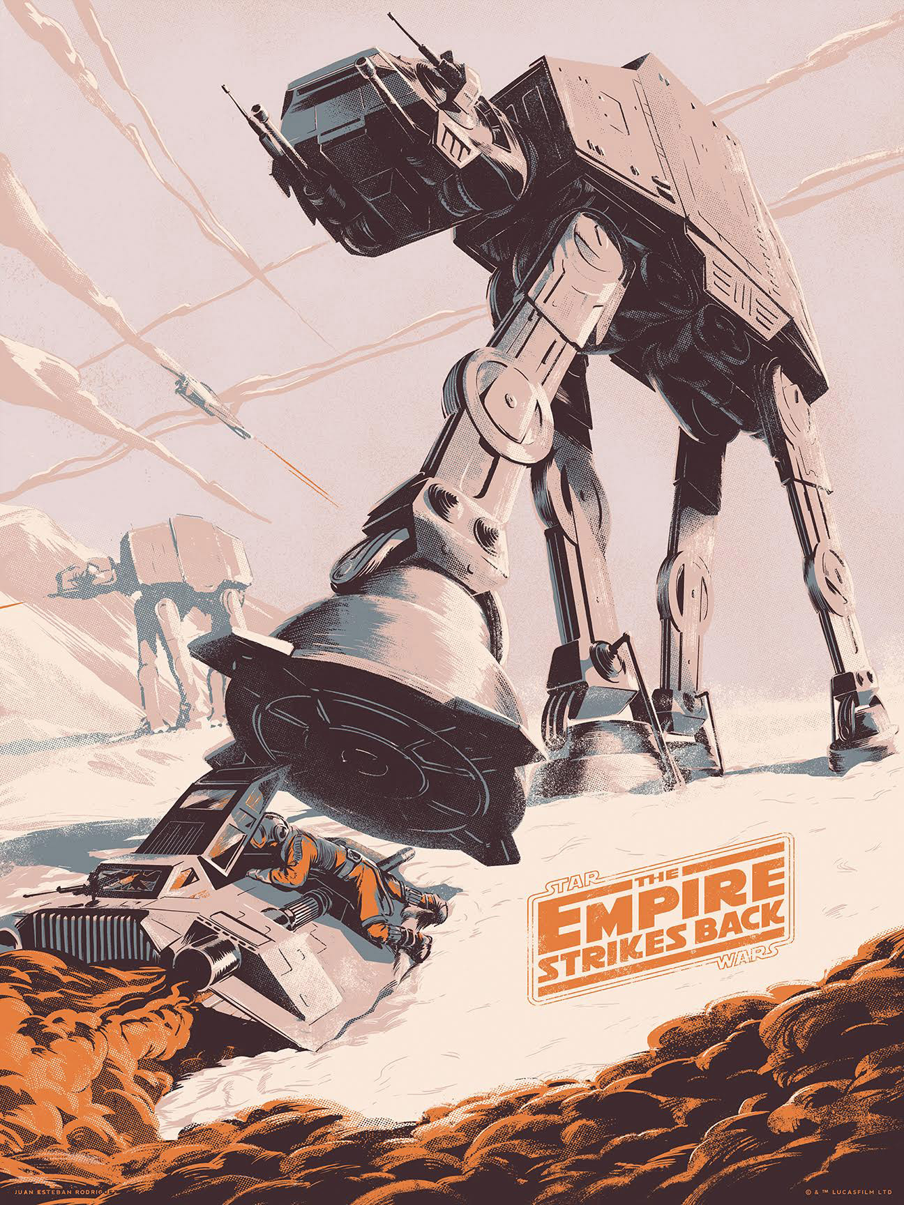 The Empire Strikes Back Movie Variant Poster