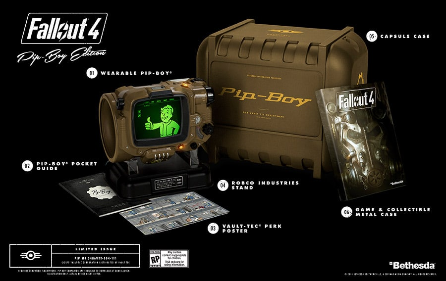 Fallout 4 Pip-Boy Limited Edition Set