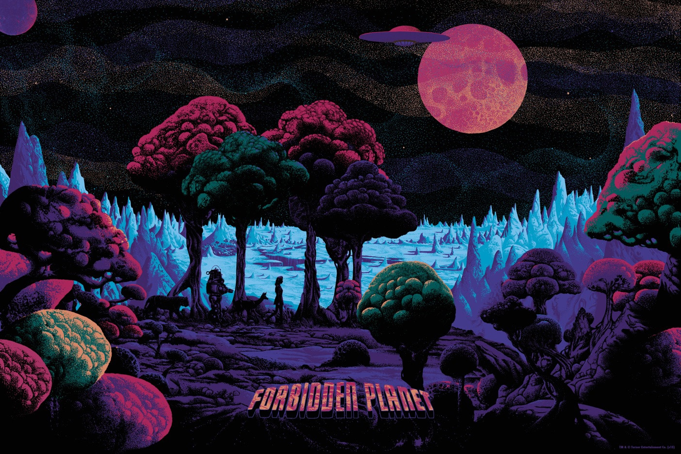 Forbidden Planet Canvas Print