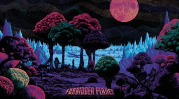 Forbidden Planet Prints By Kilian Eng